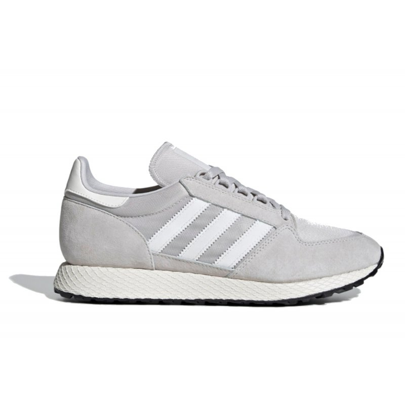 ADIDAS FOREST GROVE ΑΝΔΡΙΚΑ ΠΑΠΟΥΤΣΙΑ  ΑΘΛΗΤΙΚΑ ΓΚΡΙ EE5837